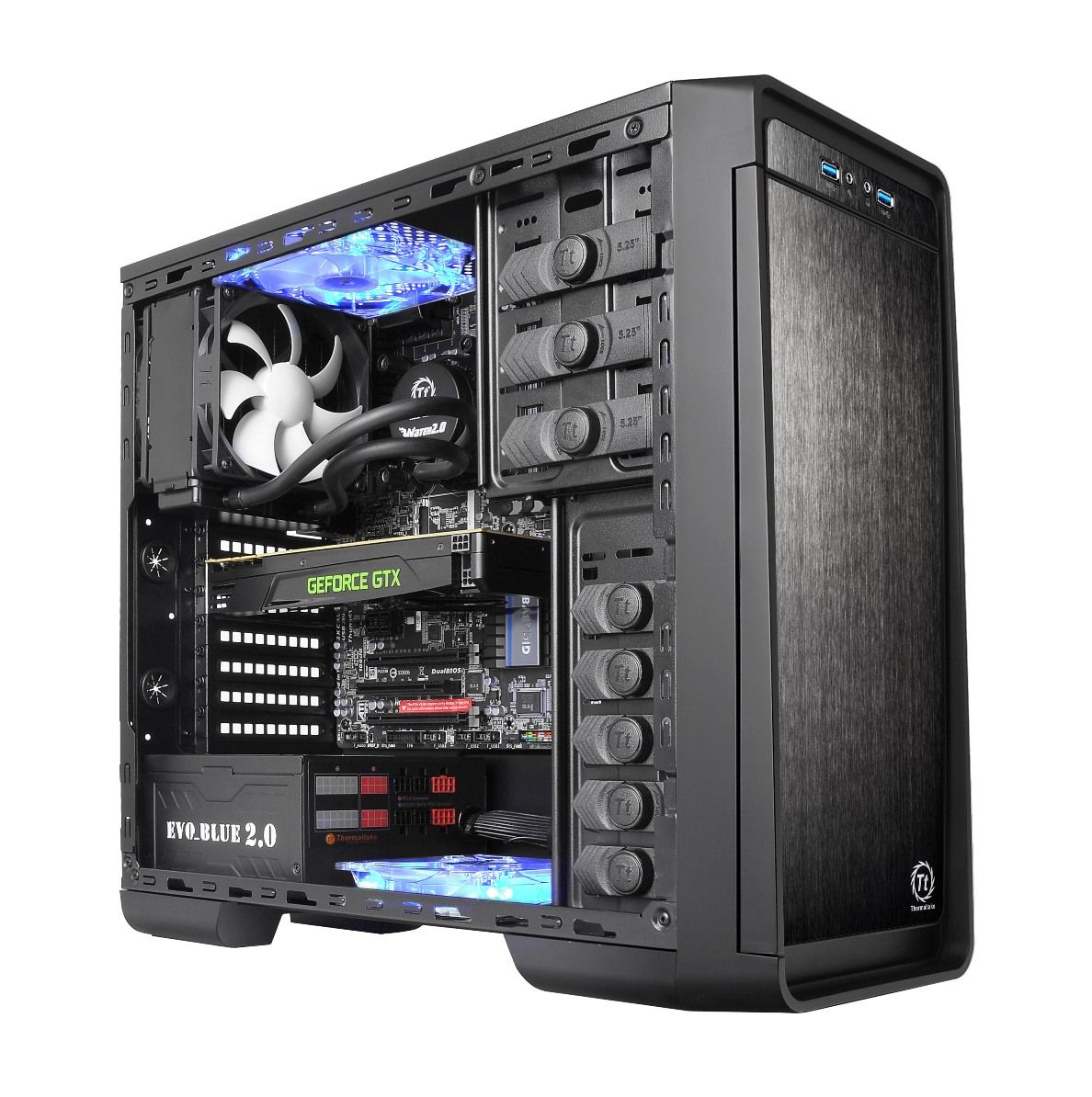 Thermaltake Urban S21 mid-tower chassis, stylish design with powerful performance.jpg